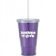 Purple Slurpy With Disco Insert | 16 oz