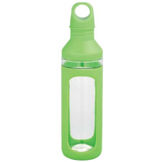 Green 20 oz Hover Glass Water Bottles