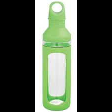 Green 20 oz Hover Glass Water Bottles