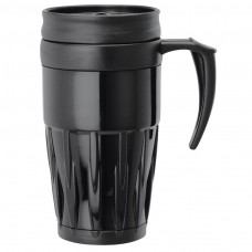 Black Double Wall PP Mugs | 14 oz