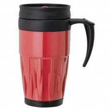 Red Double Wall PP Mugs | 14 oz