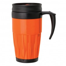 Orange Double Wall PP Mugs | 14 oz