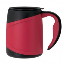 Red Microwavable Double Wall Mugs | 15 oz