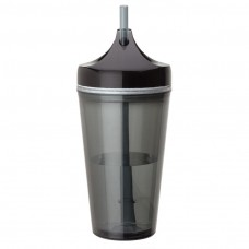 Black Double Wall AS Tumblers | 16 oz - Smoke