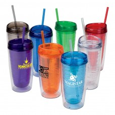 Quench Bottle With Lid And Straw 16 Oz Custom Tumbler