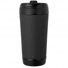 Black Perka Insulated Spill-Proof Mugs | 17 oz