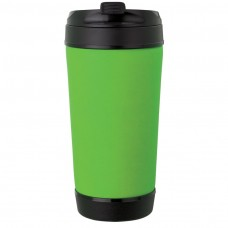Lime Green Perka Insulated Spill-Proof Mugs | 17 oz