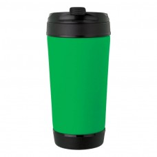 Green Perka Insulated Spill-Proof Mugs | 17 oz