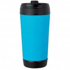 Light Blue Perka Insulated Spill-Proof Mugs | 17 oz