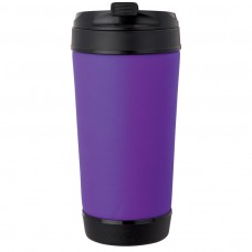 Purple Perka Insulated Spill-Proof Mugs | 17 oz