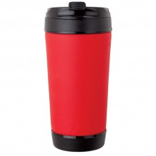 Red Perka Insulated Spill-Proof Mugs | 17 oz