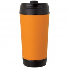 Orange Perka Insulated Spill-Proof Mugs | 17 oz