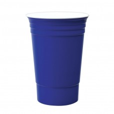 Blue Double Wall Party Cup | 16 oz
