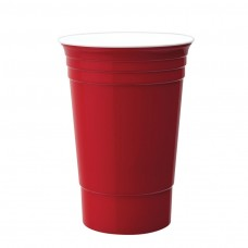 Red Double Wall Party Cup | 16 oz
