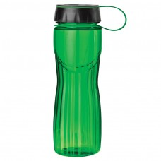 Green PETE Water Bottles | 24 oz