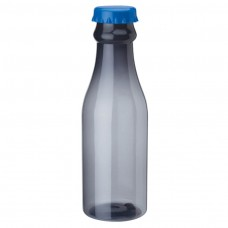 Smoky Bottles with Blue Bottles Cap PP Water Bottles | 23 oz