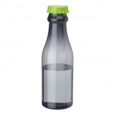 Green PP Water Bottles | 23 oz - Smoky Bottles with Green Bottles Cap