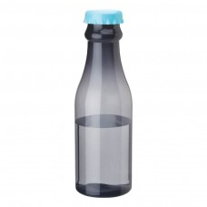 Smoky Bottles with Light Blue Bottles Cap PP Water Bottles | 23 oz