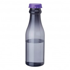 Purple PP Water Bottles | 23 oz - Smoky Bottles with Purple Bottles Cap
