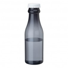 White PP Water Bottles | 23 oz - Smoky Bottles with White Bottles Cap