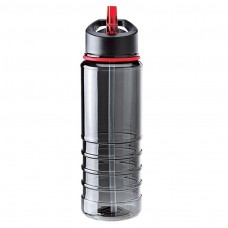Red Tritan Water Bottles| 25 oz - Charcoal Bottles with Red Drinking Spout