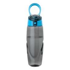 Smoky Bottles with Light Blue Spout Tritan Water Bottles | 32 oz