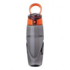 Orange Tritan Water Bottles | 32 oz - Smoky Bottles with Orange Spout