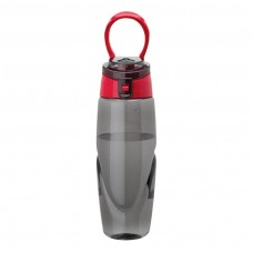 Red Tritan Water Bottles | 32 oz - Smoky Bottles with Red Spout