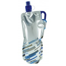 Blue Lazer Flat Bottles | 30 oz