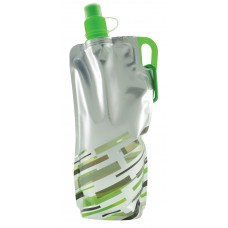 Neon Green Lazer Flat Bottles | 30 oz