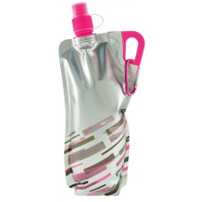 Neon Pink Lazer Flat Bottles | 30 oz