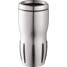 Black Tech Tumblers | 14 oz - Stainless Steel with Black Rubber Grip