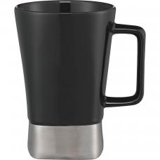 Black Ceramic Desk Mugs | 16 oz