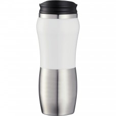 White Custom Stainless Steel Tumblers | 14 oz