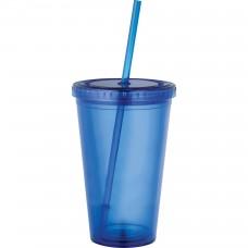 Blue Sedici Tumblers | 16 oz