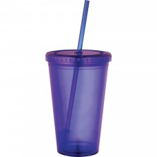 Purple Sedici Tumblers | 16 oz
