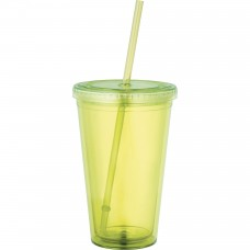 Yellow Sedici Tumblers | 16 oz