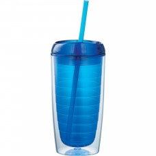 Blue Vortex Tumblers | 16 oz