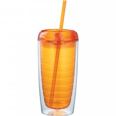Orange Vortex Tumblers | 16 oz