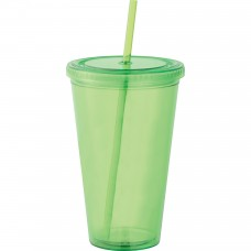 Green Sedici Mega Acrylic Tumblers | 24 oz