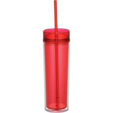 Red Hot & Cold Skinny Tumblers | 15 oz