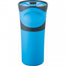 Blue Groovy Double-Wall Tumblers | 18 oz