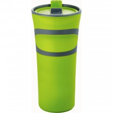 Lime Green Groovy Double-Wall Tumblers | 18 oz