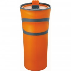 Orange Groovy Double-Wall Tumblers | 18 oz