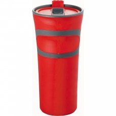 Red Groovy Double-Wall Tumblers | 18 oz
