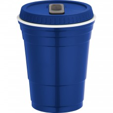 Blue Game Day Cup With Lid | 16 oz