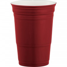 Red Game Day Ceramic Cup | 12 oz