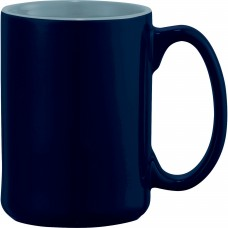 Blue Jumbo Ceramic Mugs | 14 oz