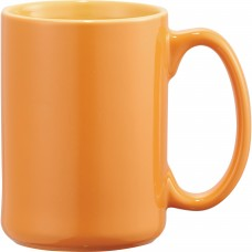 Orange Jumbo Ceramic Mugs | 14 oz