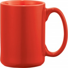 Red Jumbo Ceramic Mugs | 14 oz